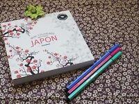 NEW; coloring book Japan