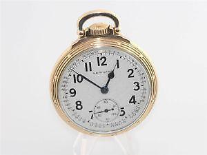 2809209f7 Hamilton Pocket Railroad Watch 992B