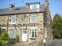 Quality 3 bedromed end terraced property with GCH & DG ideally situated in rural location