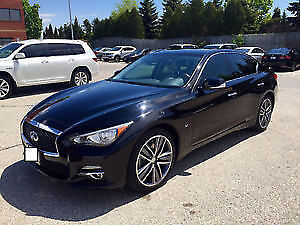 2015 Infiniti Q50 Limited Package (NAVI, AWD, BOSE) Cheap lease