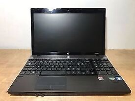 HP ProBook 4525s Windows 7 Laptop, AMD Phenom 2 2.6 GHz, 4GB, 500GB HDD