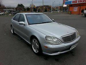 2001 Mercedes-Benz S-Class S55 AMG Sedan $5500 EMISSION TESTED