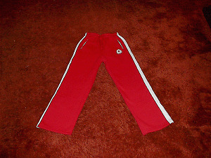 NEW 2006 Canadian Olympic Womens Red Warm-Up Slacks