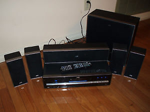 JVC THD 5 DVD/Receiver w/speakers 5.1