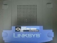 Linksys EtherFast Cable/DSL Router with 4-Port Switch