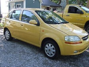 2004 Chevrolet Aveo ALX , great cond, good on gas