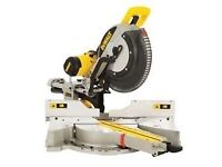 Dewalt DWS780 Compound Slide Mitre Saw 305mm Blade 240v