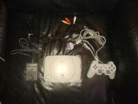 Playstation 1 slim avec 1 manette !