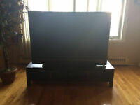 "60"" Sony Flat Screen TV HDMI with remote with stand"