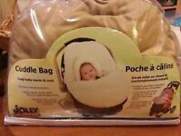 Cuddle bag for infant car seat