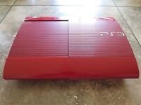 Sony Playstation 3 God of War Edition Red Console