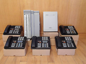 Nortel Norstar 5 telephone caller ID voice mail telephone system