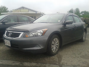 2008 HONDA ACCORD 4DR ONLY 148000KM PRICE $6500