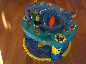 Evenflo 2-in-1 Exersaucer/Playmat *foldable for travel!* (OBO)