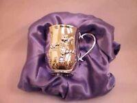 Silver Disney Winnie The Poo Mug