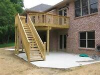 CALL THE PRO'S(DECKS/FENCING/SIDING/ROOFING)801-4202