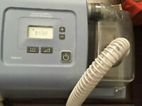 Cpap in good working condition with new hose and container