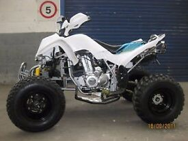 road legal sports quad bike 250cc , brand new ,assembled,registered but unridden