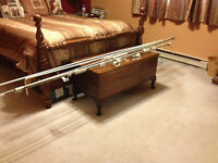 ******WALL MOUNT DUAL CURTAIN TRACK****