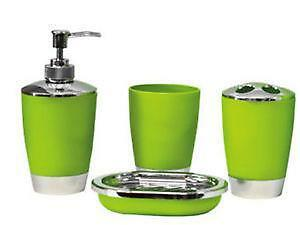 Charmant Green Bathroom Accessories