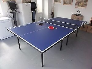 It Is A FULL SIZE Donnay Indoor Compact Folding Table Tennis Table