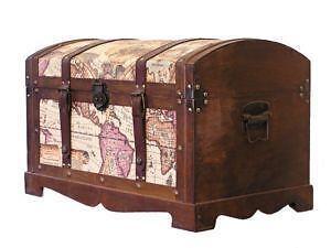 Wooden Storage Trunks