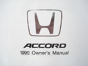 Honda Accord Owners Manuals