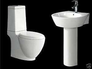 Modern Toilet And Sink