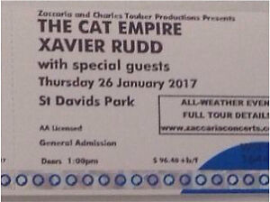 The Cat Empire / Xavier Rudd and guests Australia Day Hobart Old Erowal Bay Shoalhaven Area Preview