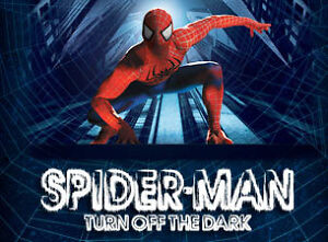 SPIDER-MAN TURN OFF THE DARK MUSICAL NY BROADWAY DISCOUNT TICKET CODE 50% OFF