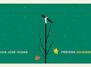 2 billets Louis-Jose Houde a Laval , 15 Decembre,Rangée A