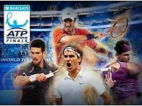 2 x ATP tennis world tour final tickets O2 - 17/11