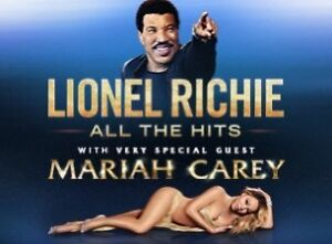 2 tickets for Lionel Richie with Mariah Carey