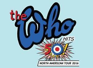 Tickets for The Who in Saskatoon!!