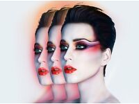 KATY PERRY GLASGOW HYDRO 2 TICKETS BLOCK 230 Row T