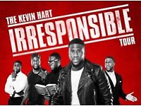 Kevin Hart Irresponsible Tour Tickets VIP PLATINUM TICKETS 30th August!! QUICK ONO