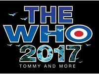 The Who 2 tickets at Glasgow Hydro