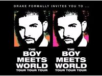 standing Drake Ticket 27th March Amsterdam