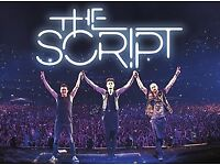 THE SCRIPT 4 x tickets @ O2 Arena + ACCOMMODATION in London!