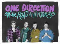 One Direction Olympic Stadium - QC Montreal Sat, Sep 5 2015