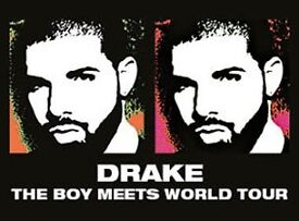 2xDrake Standing Tickets February 20th 2017