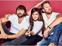 2 Bus Travel Tickets To Lady Antebellum