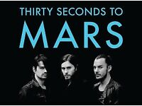 2 x 30 (Thirty) Seconds To Mars Tickets - 02 Arena - London - 27th March 2018 - Great Seats!