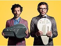 2 x tickets for Flight of the Conchords @ Portsmouth Guildhall, Monday 5th March 2018