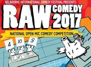 2 ticket(s) to: RAW Comedy National Grand Final - MICF 2017 Brisbane City Brisbane North West Preview