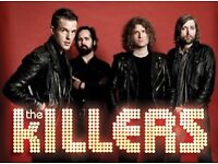 x1 The Killers at O2 for 27th Nov