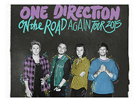 2 Floor OneDirection Concert Tickets for Vancouver, BC