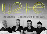 U2 iNNOCENCE + eXPERIENCE Tour 2015 TIckets ACC Mon. July6th 7pm