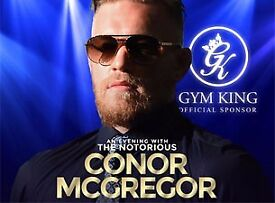 AN EVENING WITH THE NOTORIOUS CONOR McGREGOR SSE HYDRO GLASGOW FRIDAY 29th SEPTEMBER 2017