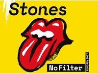 Rolling Stones Concert Ticket